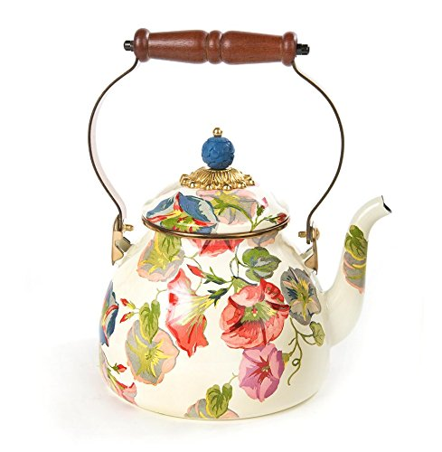 MacKenzie-Childs Morning Glory Tea Kettle - 2 Quart by MacKenzie-Childs