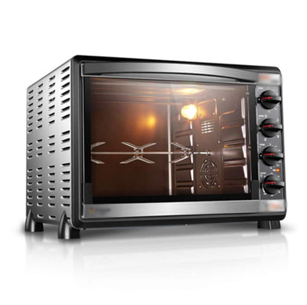 ZCYX オーブントースターホームベーキング多機能自動52リットル大容量ケーキ電気オーブン(2オーブンを含む) -7487 オーブン B07RWD9R8M