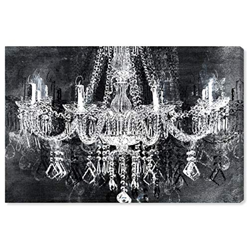 The Oliver Gal Artist Co. Fashion and Glam Wall Prints 'Crystal Attraction' Canvas Art, 24