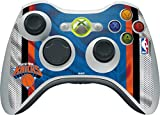 NBA New York Knicks Xbox 360 Wireless Controller Skin - New York Knicks Away Jersey Vinyl Decal Skin For Your Xbox 360 Wireless Controller