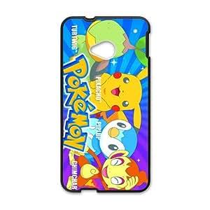 Pikachu Pocket Monster Pokemon Black HTC M7 case