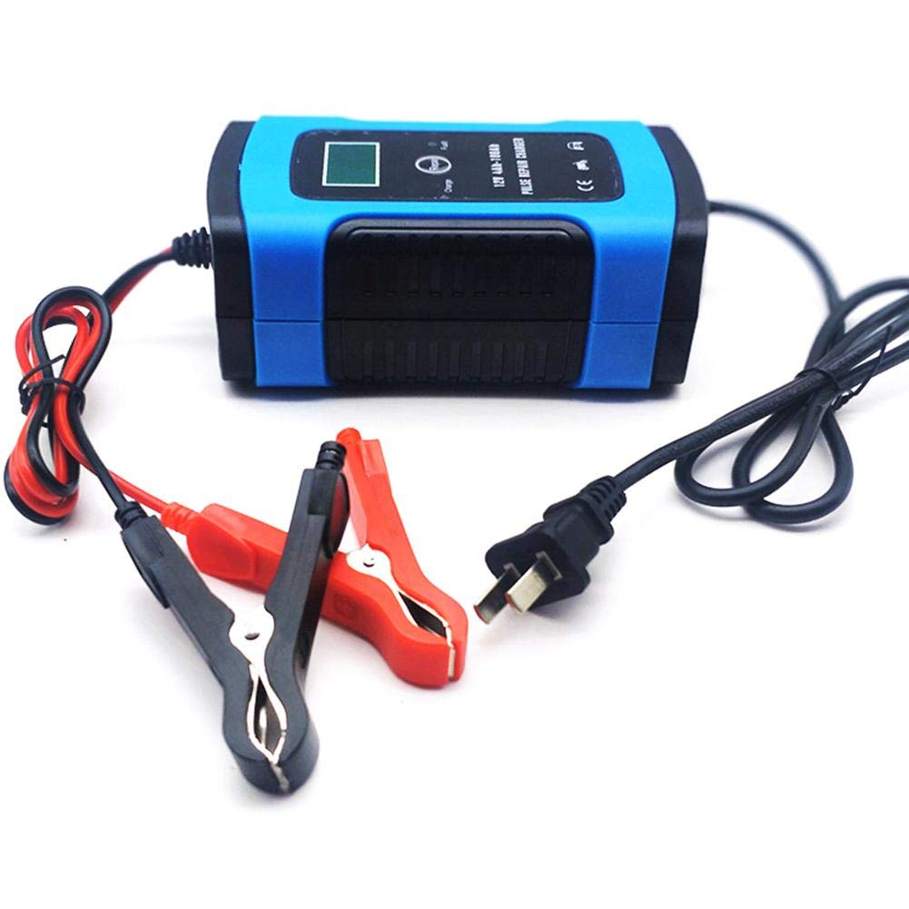 Car Battery Charger Fully Automatic Battery Charger Smart Battery Charger Fully Intelligent Universal Repair Type Lead Acid Storage Charger 12V 6A