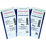 Hoover Type A Vacuum Cleaner bags Bissell Style 2 Kenmore 5037 & 50378 Singer SUB-2 HEMS-1 ~ You receive 9 Allergen Bags