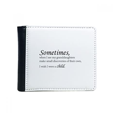 Amazon Com Quotes Between Grandson And Grandpa Flip Bifold Faux