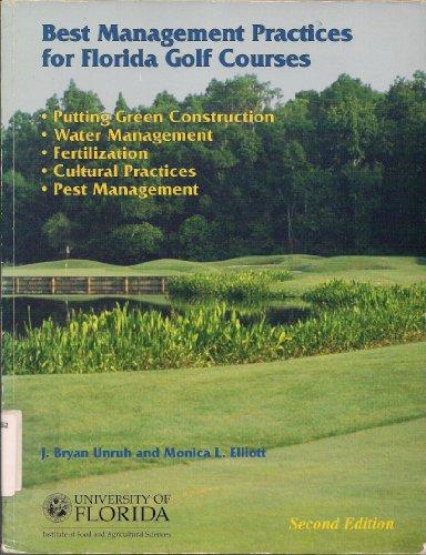 Best Management Practices for Florida Golf Courses (Best Management Practices Florida)