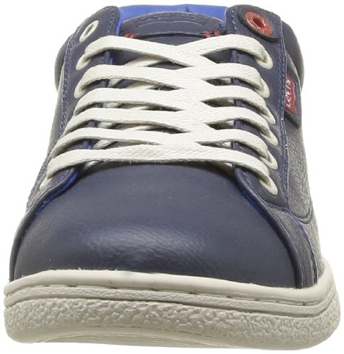 Levi's Mens Tulare Low Lace Manmade Trainers Navy Blue sale online authentic cheap price eastbay online ROuZelo
