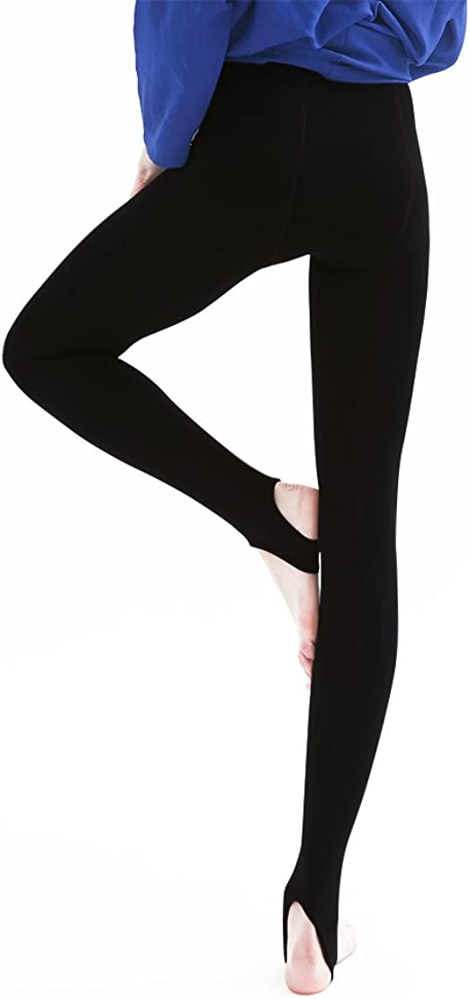 WOMENS LADIES WINTER FLEECE THERMAL WARM THICK FULL LENGTH LEGGINGS ALL COLOURS
