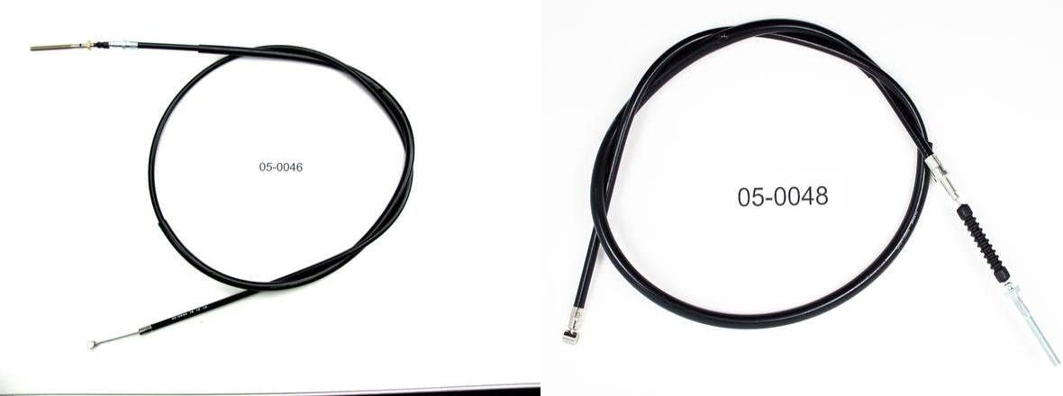 Rear Hand /& Front Brake Cables Bundle for YAMAHA YTM 200 1983-1985 MOTION PRO
