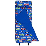 Original Nap Mat, Olive Kids by Wildkin Children's Original Nap Mat with Built in Blanket and Pillowcase, Pillow Insert Included, Premium Cotton and Microfiber Blend, Children Ages 3-7 years – Heroes