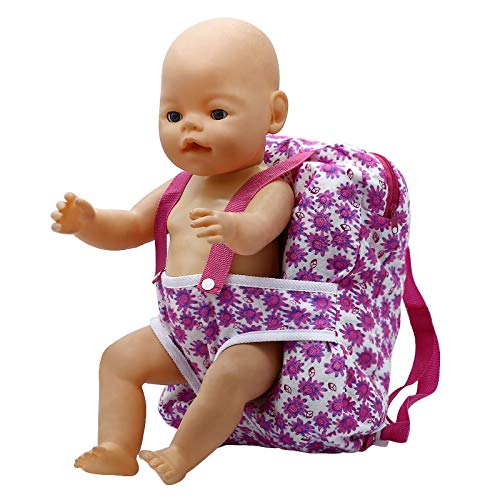 Funny Toyy Outgoing Packets Outdoor Carrying Doll Backpack Suitable for Carrying 43cm Baby Born Zapf Doll and American Girl Doll