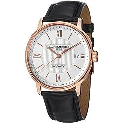 Baume & Mercier Men's A10037 Classima Analog Display Swiss Automatic Black Watch