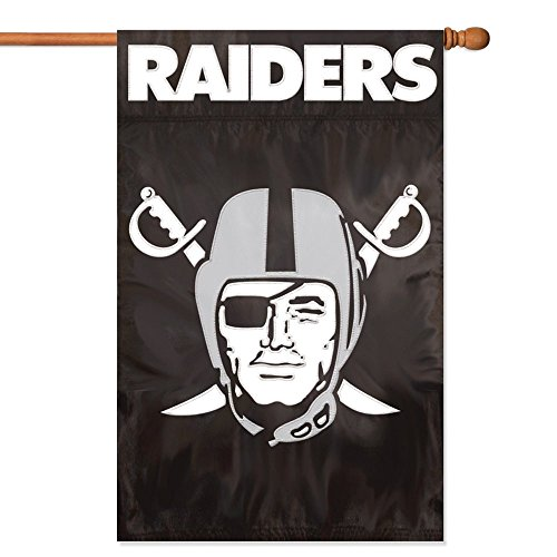 Raiders Applique - Party Animal Oakland Raiders Banner NFL Flag