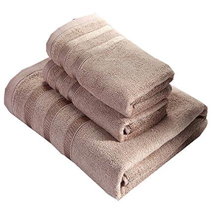 Zhiyuan Toalla de baño y toalla de mano en fibra de bambú