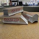 Fibre Glast - Fine Contour Block - 5.5 x 2 Inch - 120 Grit on Both Sides - Smooth Edges for Finished Composites