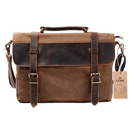 s-zone-vintage-canvas-genuine-leather-messenger-traveling-briefcase-shoulder-laptop-bag