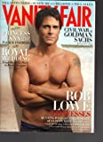 Vanity Fair May 2011 Rob Lowe Royal Wedding Bill Gates Charlie Sheen Sean Penn Tom Cruise