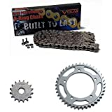 2008-2016 Triumph Street Triple 675 O-Ring Chain and Sprocket Kit - Nickel