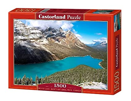 Amazon.com: Canadá, Banff National Park: Peyto Lago: Toys ...