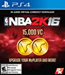 NBA 2K16 - 15,000 VC - PlayStation 4...
