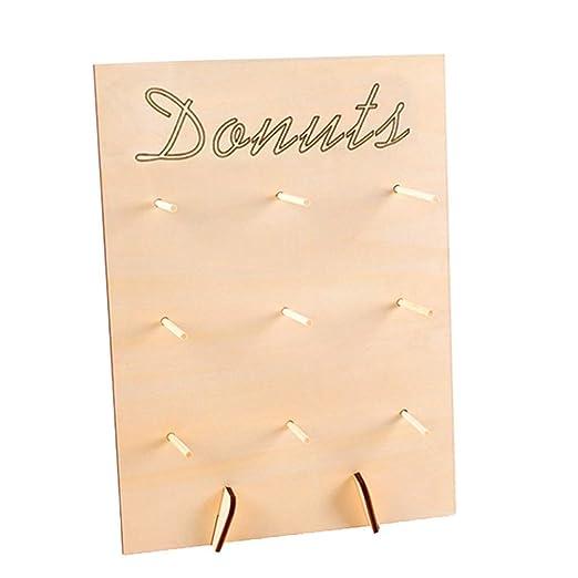 Donut Estante Postre Hogar Sala Boda Suministros Bricolaje ...