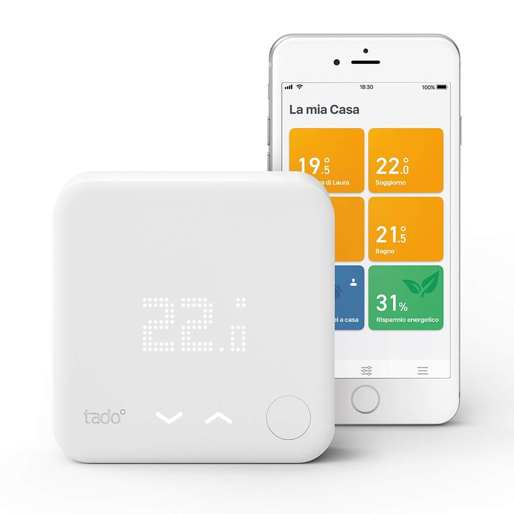 Tado° Termostato Intelligente Kit di Base V3+
