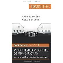 Priorité aux priorités de Stephen R. Covey: Vers une meilleure gestion de son temps
