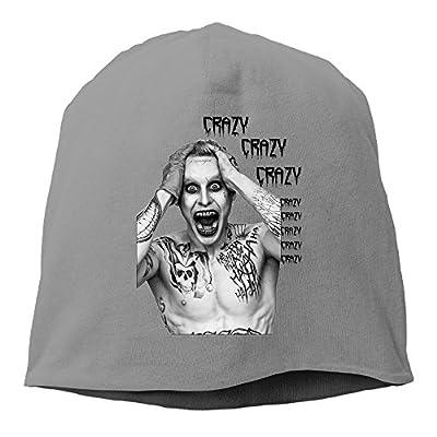 YUVIA Crazy Joker Men's&Women's Patch Beanie MountaineeringDeepHeather Hat For Autumn And Winter
