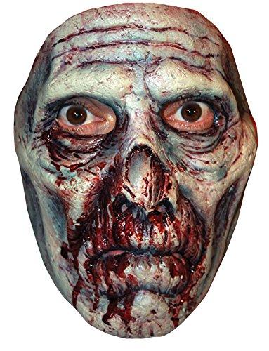 Spaulding Captain Costume Clown (Bruce Spaulding Fuller Rotted Zombie 3 Horror Latex Adult Halloween Costume)