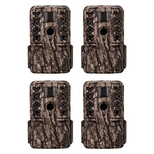Moultrie M-50 20MP Low Glow Infrared Game Camera (4 Pack)