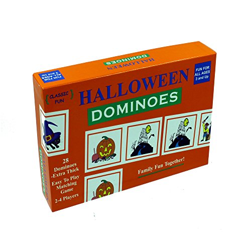 Old Hollywood Halloween Costume Ideas (Halloween Dominoes - the perfect Halloween Party Game - The Original Halloween Dominoes Game with Halloween-themed pieces for a fun-filled Halloween House Party!)