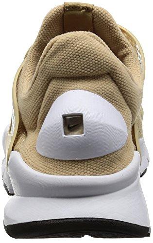Nike Kvinna Strumpa Dart Löparsko Linne / Vit-vit-svart