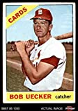 #8: 1966 Topps # 91 TR Bob Uecker St. Louis Cardinals (Baseball Card) (Reads Bob was traded to the Philies on the last line of the Bio) Dean's Cards 2 - GOOD Cardinals