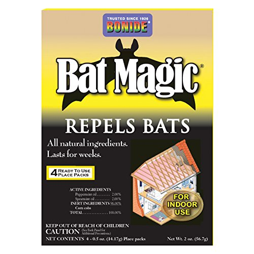 Bonide Products 876 4-Pack Bat Repellent
