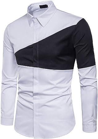 Camisas de vestir para hombre Camisa De Algodón For Hombre Moda De Costura Con Camisa De