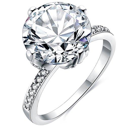 Emerald Cut Peridot Solitaire Ring - 7