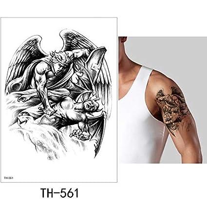 MRKAL Etiqueta Engomada del Tatuaje Temporal Fresco Falso Tatoo ...