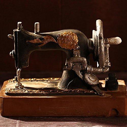 Seawang - Adorno de máquinas de coser antiguas para decoración de ...