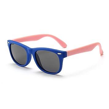 ALLTA Niño pequeño Bebé Niños Niños Chicas TPEE Gafas de Sol polarizadas elásticas Flexibles Anti-UV