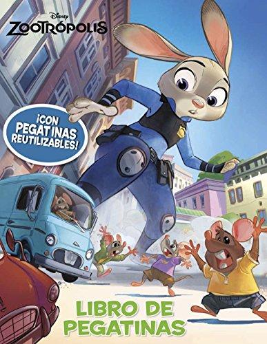 Zootrópolis. Libro de pegatinas (Disney. Zootrópolis) por Disney