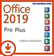 TECKNET La Clave Office 2019 Pro Plus para un Dispositivo/no se Puede Usar para Mac/artículo Digital/será envi