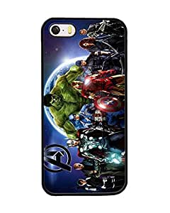Cute Design for Iphone 5s 5, The Avengers Marvel Comics Ultra Thin Plastic Back Fundas Case Compatible With Iphone 5s