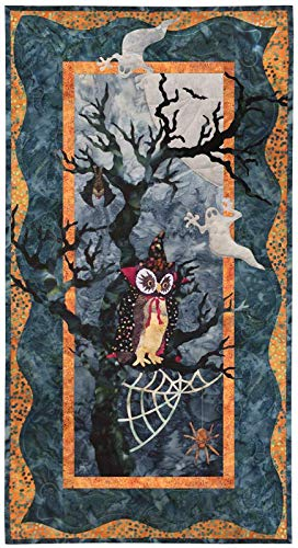 Halloween Quilt Kits (McKenna Ryan~Once in a Boo Moon~Whoo Goes There~Halloween~Pre-Cut Laser Applique Kit)