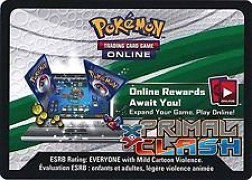Pokemon Primal Clash Promo Lot of 36 Code Cards