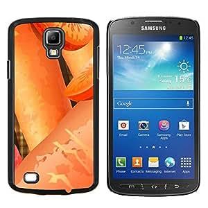 Caucho caso de Shell duro de la cubierta de accesorios de protección BY RAYDREAMMM - Samsung Galaxy S4 Active i9295 - Planta Naturaleza Forrest Flor 24