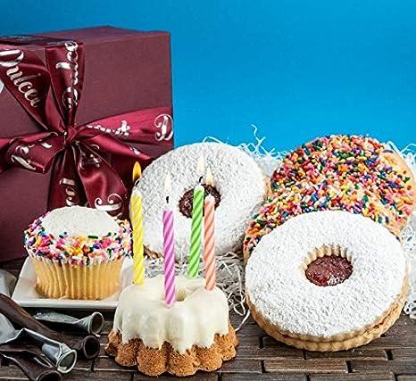 Dulcet Cestas de regalo de cumpleaños Vainilla Sprinkle ...
