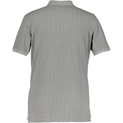 STATE OF ART - Herren Poloshirt Piqué mit Poplindetails