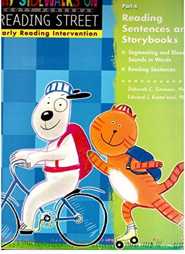 - My Sidewalks on Reading Street Part 4 Teacher's Guide - Reading Sentences and Storybooks