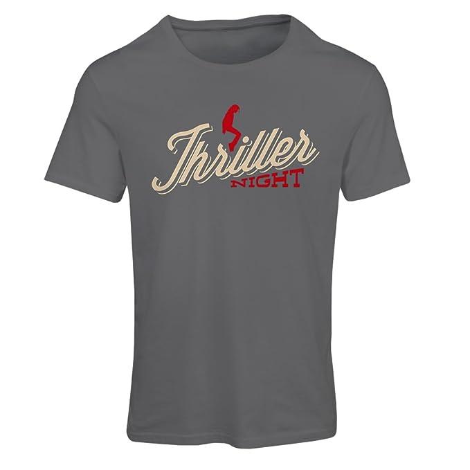 Camiseta mujer The Thriller Night - 1980s 1990s, MJ rey de la música pop: Amazon.es: Ropa y accesorios
