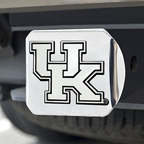 - FANMATS  14990  NCAA University of Kentucky Wildcats Chrome Hitch Cover