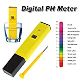 Digital PH Meter Tester Pocket Portable Pool Water Aquarium Hydroponic Wine New by BombDealsStore